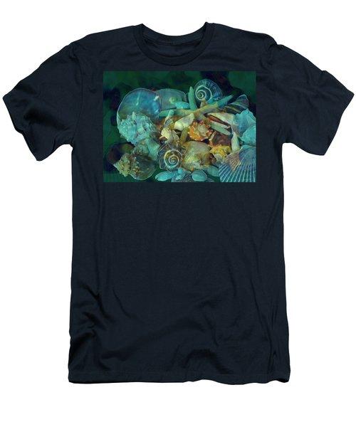 Beach Beauty 10  Men's T-Shirt (Athletic Fit)