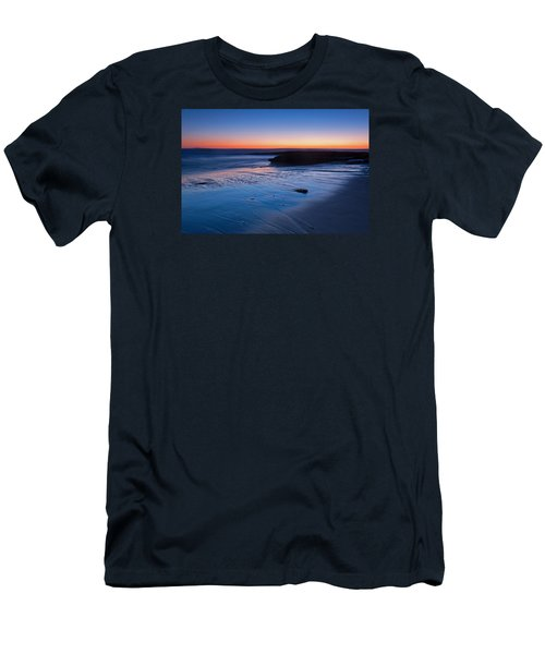 Beach View  Men's T-Shirt (Slim Fit) by Catherine Lau