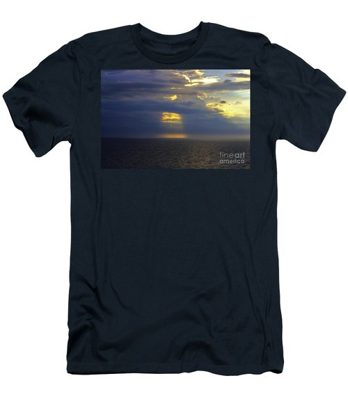 Beam Me Up Men's T-Shirt (Slim Fit) by Patti Whitten
