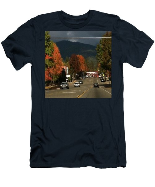 Beautiful Fall Day! Men's T-Shirt (Athletic Fit)
