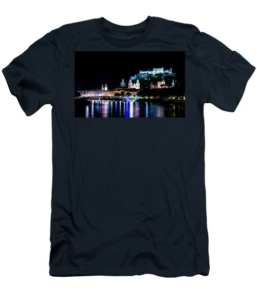 Men's T-Shirt (Slim Fit) featuring the photograph Beautiful Salzburg by David Morefield
