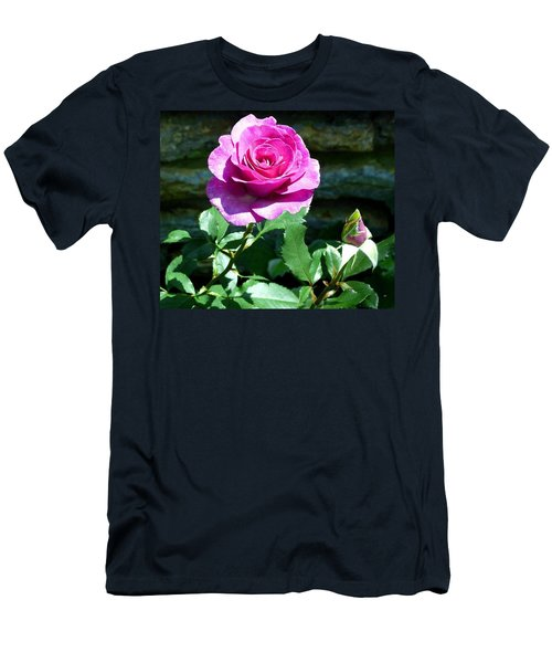Men's T-Shirt (Slim Fit) featuring the photograph Beauty And The Bud by Will Borden