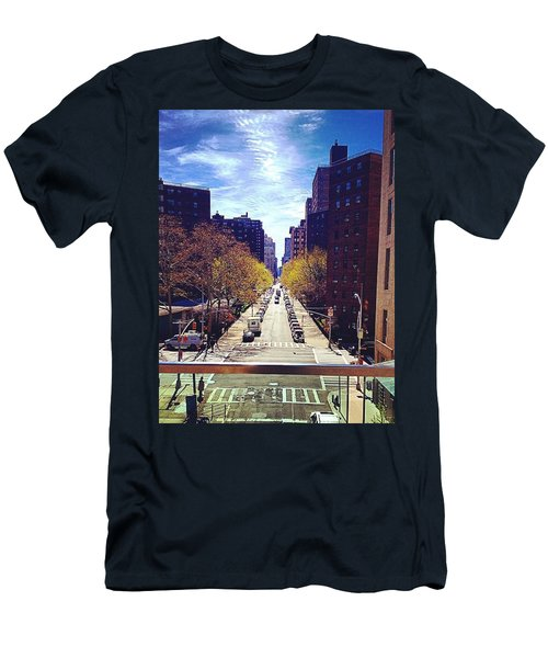 Highline Park Men's T-Shirt (Slim Fit) by Mckenzie Weldon