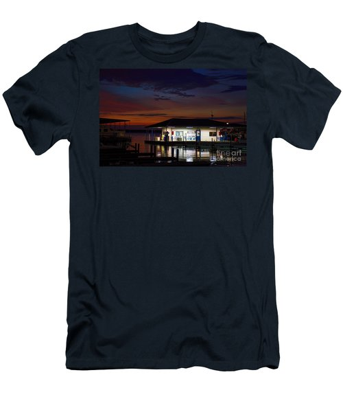 Before Sunrise Men's T-Shirt (Slim Fit) by Diana Mary Sharpton