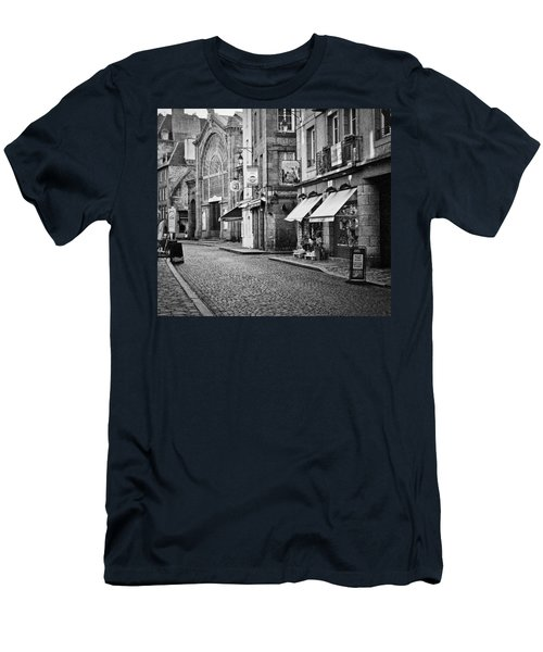 Behind The Walls 01 Men's T-Shirt (Athletic Fit)