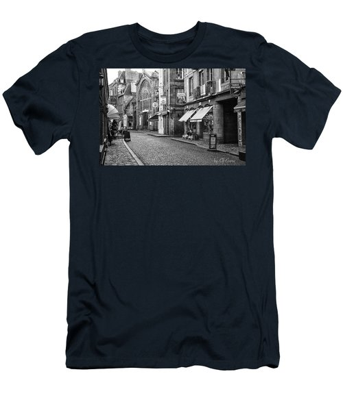Men's T-Shirt (Athletic Fit) featuring the photograph Behind The Walls 2 by Elf Evans