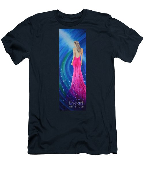 Men's T-Shirt (Athletic Fit) featuring the painting Bellissimo by Mary Scott