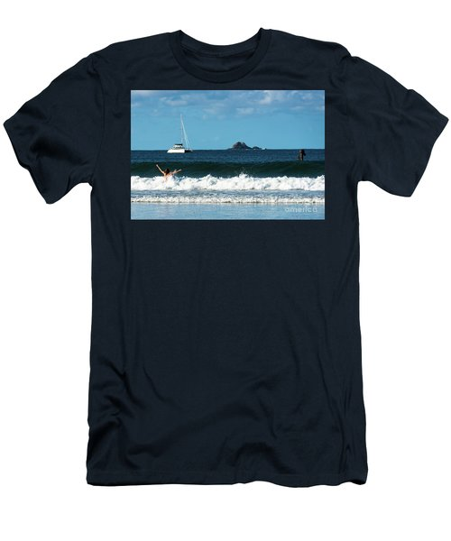 Belongil Beach Men's T-Shirt (Athletic Fit)