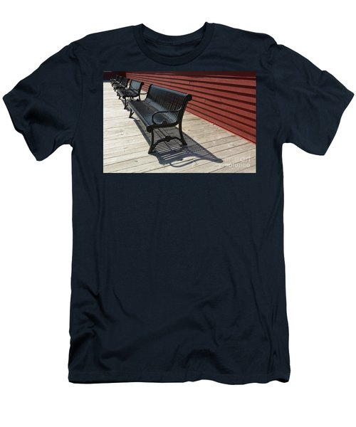 Bench Lines And Shadows 0841 Men's T-Shirt (Athletic Fit)
