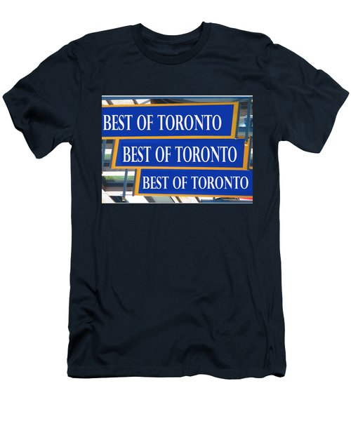 Best Of  Toronto On Canada Men's T-Shirt (Athletic Fit)