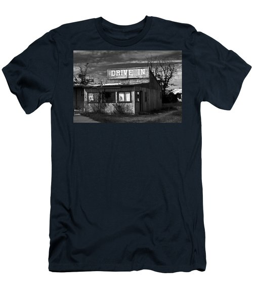 Better Days - An Old Drive-in Men's T-Shirt (Athletic Fit)