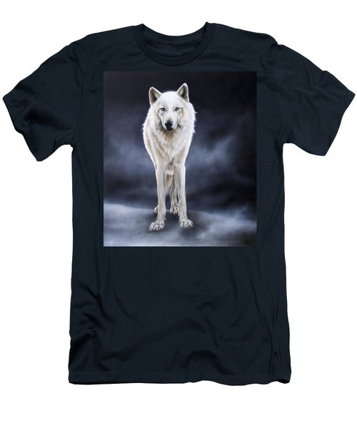 'between The White And The Black' Men's T-Shirt (Athletic Fit)