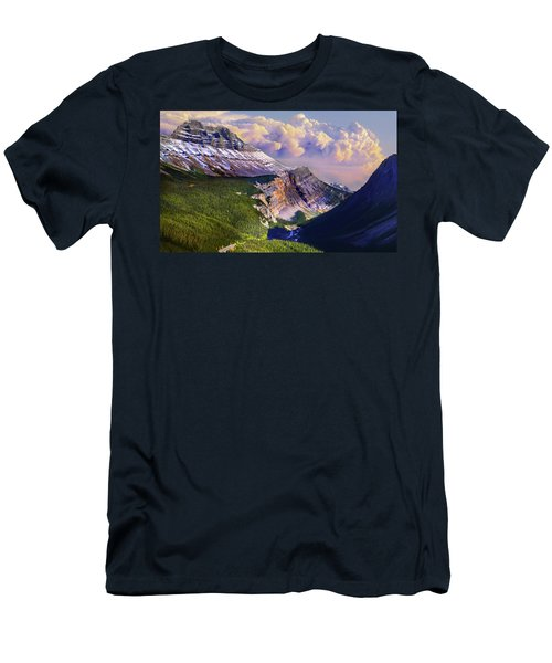 Men's T-Shirt (Slim Fit) featuring the photograph Big Bend by John Poon