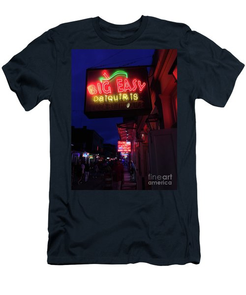 Big Easy Sign Men's T-Shirt (Athletic Fit)