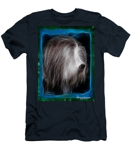 Big Shaggy Dog Men's T-Shirt (Slim Fit) by EricaMaxine  Price