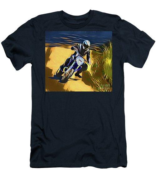Biker 21018 Men's T-Shirt (Athletic Fit)