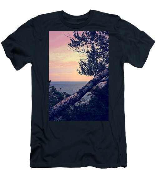 Birch At The Overlook Men's T-Shirt (Athletic Fit)