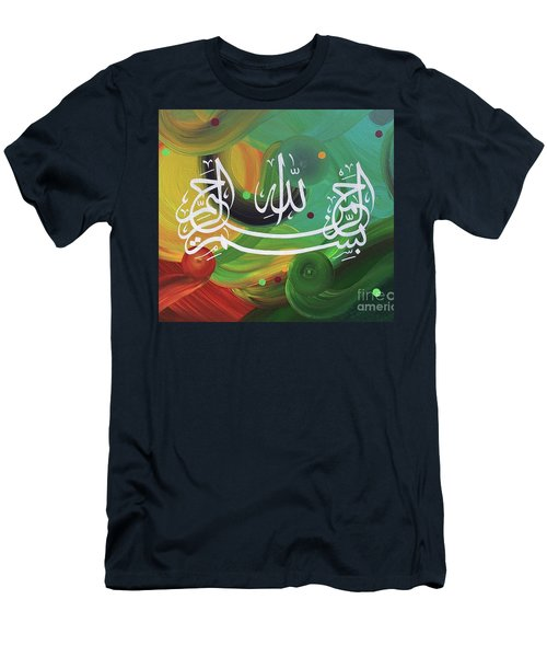 Bismillah-arahman-arahim Men's T-Shirt (Athletic Fit)