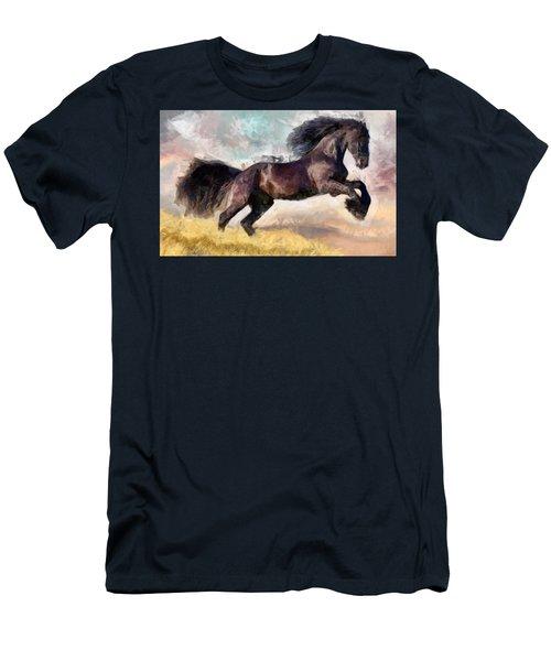 Black Beauty Men's T-Shirt (Athletic Fit)