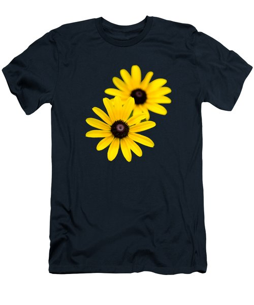 Black Eyed Susans Men's T-Shirt (Slim Fit) by Christina Rollo
