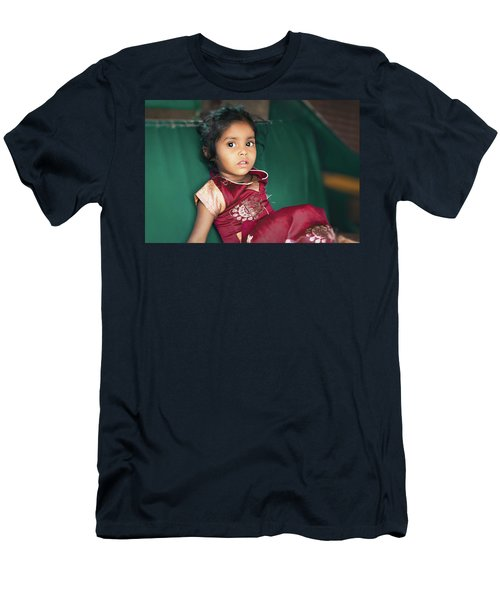 Black Eyes Men's T-Shirt (Athletic Fit)