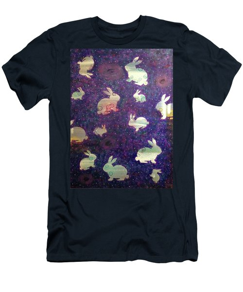 Black Holes And Bunnies Men's T-Shirt (Athletic Fit)