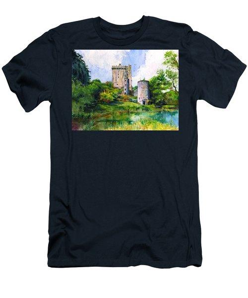 Blarney Castle Landscape Men's T-Shirt (Athletic Fit)
