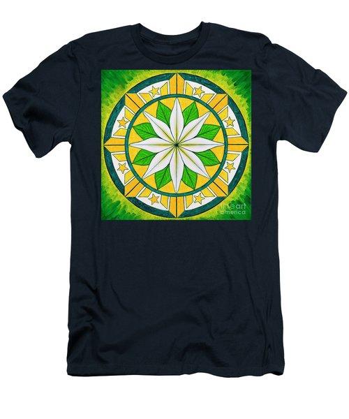 Blessings Of Kapayapaan/bendiciones De La Paz Men's T-Shirt (Athletic Fit)