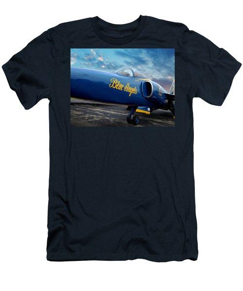 Blue Angels Grumman F11 Men's T-Shirt (Athletic Fit)