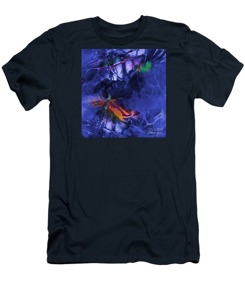 Blue Avatar Abstract Men's T-Shirt (Athletic Fit)