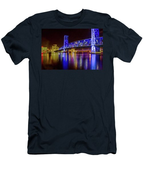 Blue Bridge 2 Men's T-Shirt (Athletic Fit)