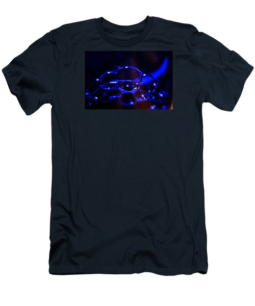 Blue Bubbles Men's T-Shirt (Athletic Fit)