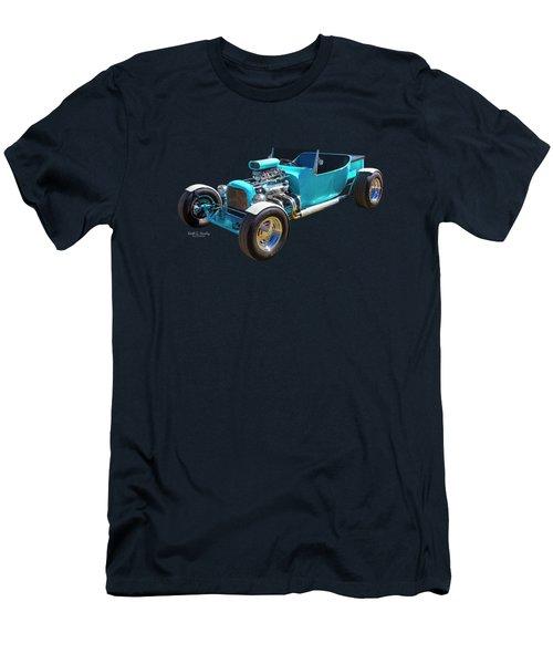Blue Bucket Men's T-Shirt (Athletic Fit)