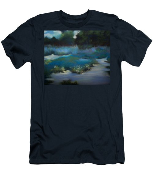 Blue Eden Men's T-Shirt (Athletic Fit)