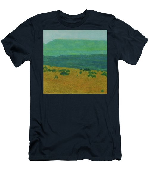 Blue-green Dakota Dream, 1 Men's T-Shirt (Athletic Fit)