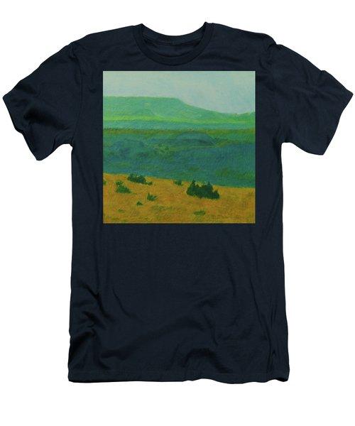 Blue-green Dakota Dream, 2 Men's T-Shirt (Athletic Fit)