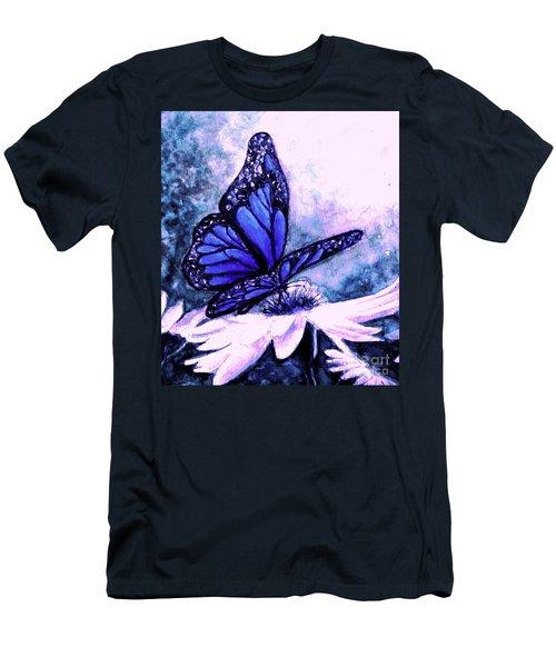 Blue Heaven Men's T-Shirt (Slim Fit) by Hazel Holland