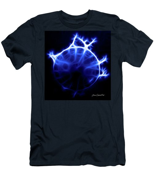Blue Jelly Fish Men's T-Shirt (Athletic Fit)