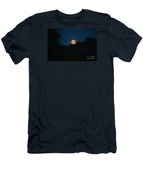 Blue Moon 2015 Men's T-Shirt (Slim Fit) by Mark McReynolds