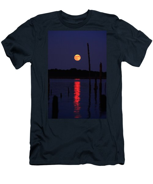 Blue Moon Men's T-Shirt (Slim Fit) by Raymond Salani III