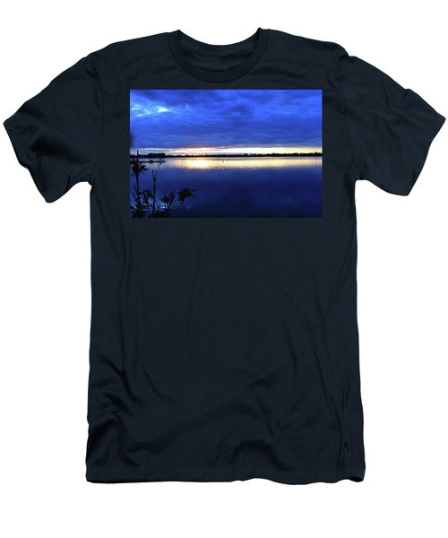Blue On Blue Men's T-Shirt (Athletic Fit)