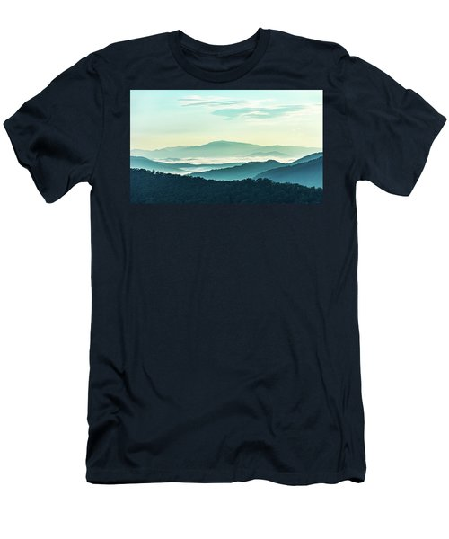 Blue Ridge Pastel Men's T-Shirt (Athletic Fit)