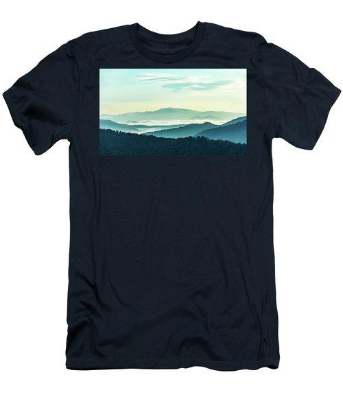 Blue Ridge Pastel Men's T-Shirt (Athletic Fit)