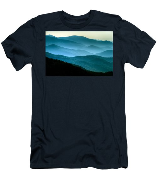 Blue Ridges Men's T-Shirt (Athletic Fit)