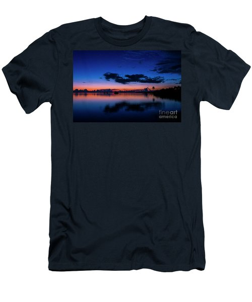 Blue Sky Night Men's T-Shirt (Athletic Fit)