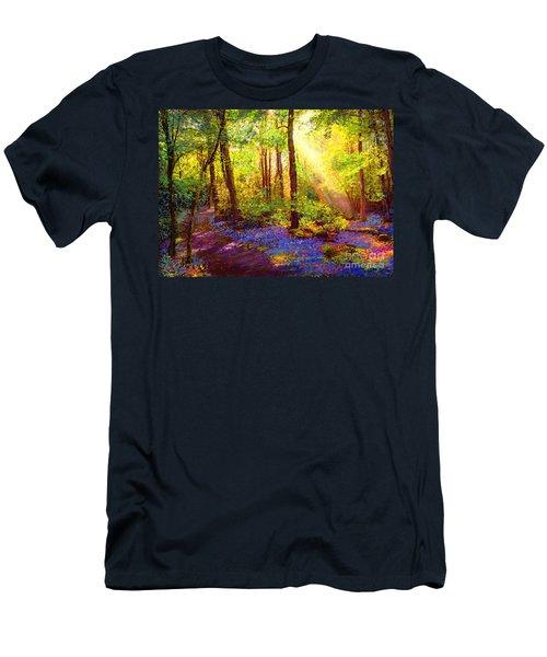 Bluebell Blessing Men's T-Shirt (Athletic Fit)