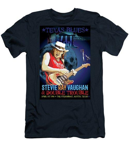 Bluesman Men's T-Shirt (Slim Fit) by Gary Grayson