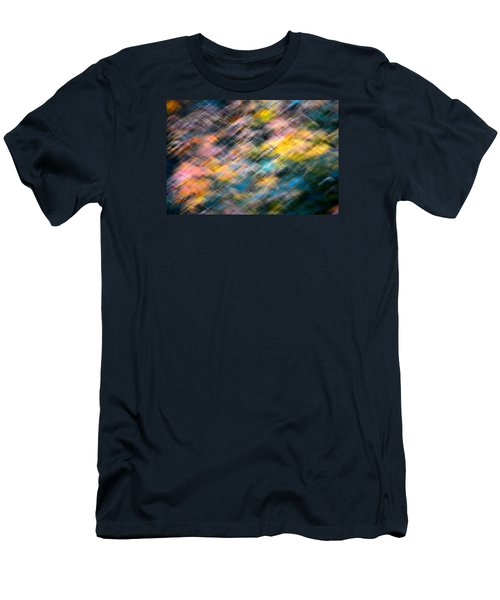 Blurred Leaf Abstract 1 Men's T-Shirt (Athletic Fit)