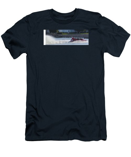 Boat On The Water Men's T-Shirt (Slim Fit) by Aaron Martens
