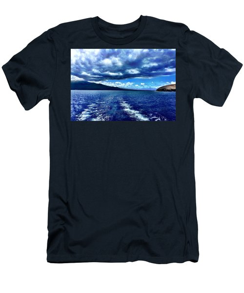 Boat View Men's T-Shirt (Slim Fit) by Michael Albright